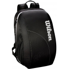 Wilson Federer Team Tennis Backpack (Black/White) - Wilson Team Tennis Bags