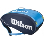 Wilson Tour 9 Pack Tennis Bag (Blue) - 7 Racquet Tennis Bags