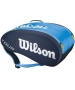 Wilson Tour 9 Pack Tennis Bag (Blue) - Wilson Tennis Bags