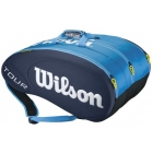 Wilson Tour 15 Pack Tennis Bag (Blue) - 7 Racquet Tennis Bags