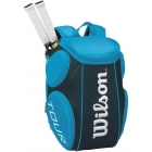 Wilson Tour Molded Large Backpack (Blue) - Wilson Tour Series Tennis Bags
