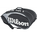 Wilson Tour 15 Pack  Bag (Blk/ Sil)