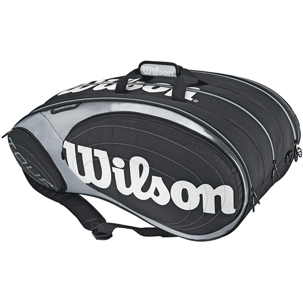 Wilson Tour 15 Pack Tennis Bag (Blk/ Sil)