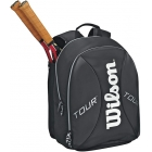 Wilson Tour  Backpack (Blk/ Sil) - Wilson Tour Series Tennis Bags