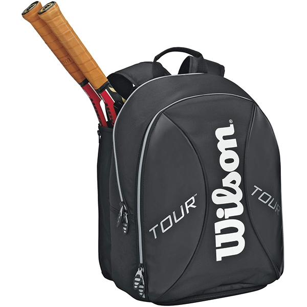 Wilson Tour Tennis Backpack (Blk/ Sil)