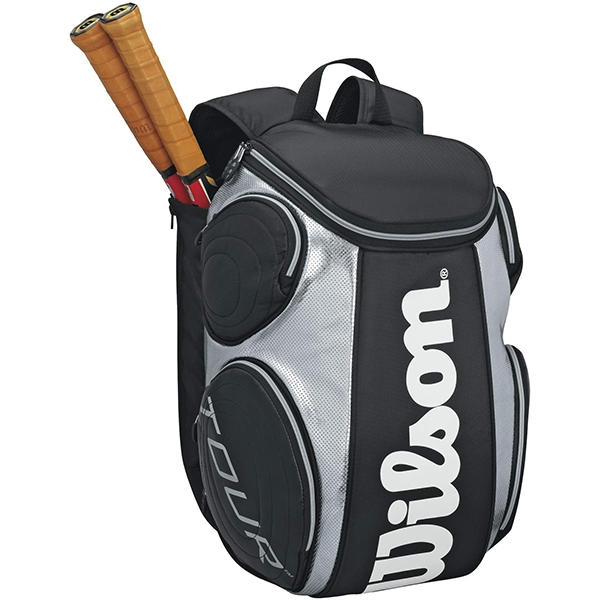 Wilson Tour Large Tennis Backpack (Blk/ Sil)