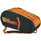 Wilson Tour Burn Molded 9pk Racquet Holder - Wilson Tour Series Tennis Bags