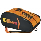 Wilson Tour Burn Molded 15pk Racquet Holder - 7 Racquet Tennis Bags