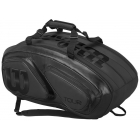 Wilson Tour V 15 Pack Tennis Bag (Black Edition) - 9 and 12+ Racquet Tennis Bags