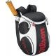 Wilson Tour Large  Backpack (Blk/ Wht/ Red) - Wilson Tour Series Tennis Bags