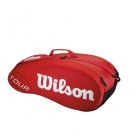 Wilson Tour 6 Pack Tennis Bag (Red) - Wilson Tennis Bags