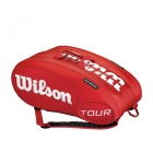 Wilson Tour 15 Pack Tennis Bag (Red) - Racquet Bags