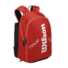 Wilson Tour Small Backpack (Red) - Wilson Tour Series Tennis Bags