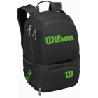 Wilson Tour V Tennis Backpack (Black/Lime) - Wilson Tour Tennis Bags