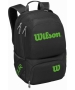 Wilson Tour V Tennis Backpack (Black/Lime) - Wilson Tennis Bags