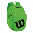 Wilson Blade Tennis Backpack (Green/Black) - Tennis Racquet Bags