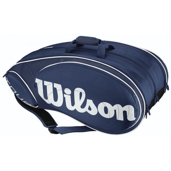 Wilson Tour 9 Pack Tennis Bag (Blue/White)