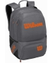 Wilson Tour V Tennis Backpack (Grey/Orange) - Wilson Tennis Bags