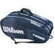 Wilson Team III 12 Pack Tennis Bag (Blue/White) - Tennis Racquet Bags
