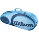 Wilson Team Blue Collection 3 Pack Tennis Bag - Wilson Team Collection Tennis Bags