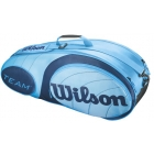 Wilson Team Blue Collection 6 Pack Tennis Bag - Racquet Bags