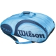 Wilson Team Blue Collection 12 Pack Tennis Bag - Tennis Bags on Sale