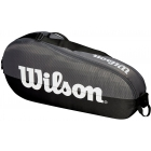 Wilson Team 1 Comp Tennis Bag (Black/Grey) - Wilson Team Tennis Bags