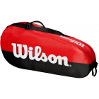 Wilson Team 1 Comp Tennis Bag (Black/Red) - Wilson Team Tennis Bags