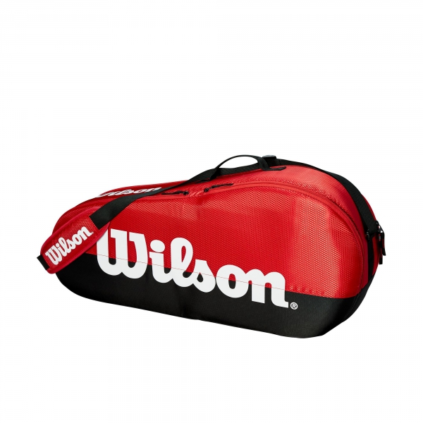 Wilson Team 1 Compartment Tennis Bag (Black/Red)