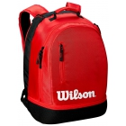 Wilson Team Tennis Backpack (Black/Red) - Wilson Team Tennis Bags