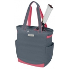 Wilson Women's Grey/Pink Tennis Tote - MAP Products