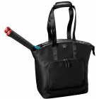 Wilson Women's Tennis Tote (Black) - Women's Tennis Bags
