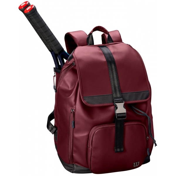 Wilson Women's Fold-Over Tennis Backpack (Purple)