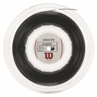 Wilson Revolve Spin 16g Tennis String Black (Reel) - Spin Friendly Strings
