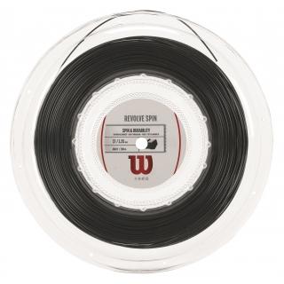 Wilson Revolve Spin 17g Tennis String Black (Reel)