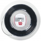 Wilson Synthetic Gut Power 17g Black Tennis String (Reel) -