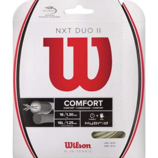 Wilson NXT Duo II 16g Tennis String (Set)
