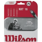 Wilson NXT 16g Black (Set) - Wilson Multi-Filament String