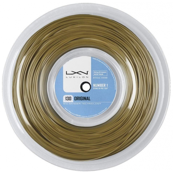 Luxilon Original 130 16g Tennis String (Reel)