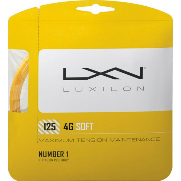 Luxilon 4G Soft 125 17G Tennis String (Set)