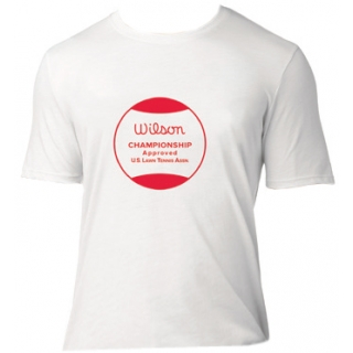 Wilson Men's Champ Approved Crew (White/ Red)