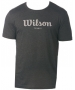Wilson Men's Vintage Tech Tee (Grey) - Wilson Men's Apparel Tennis Apparel