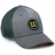 Wilson Classic Grey Cap - Wilson Hats, Caps, and Visors Tennis Apparel