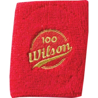 Wilson 100 Year Double Wristbands (Red)