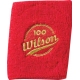 Wilson 100 Year Double Wristbands (Red) - Wilson Headbands & Writsbands
