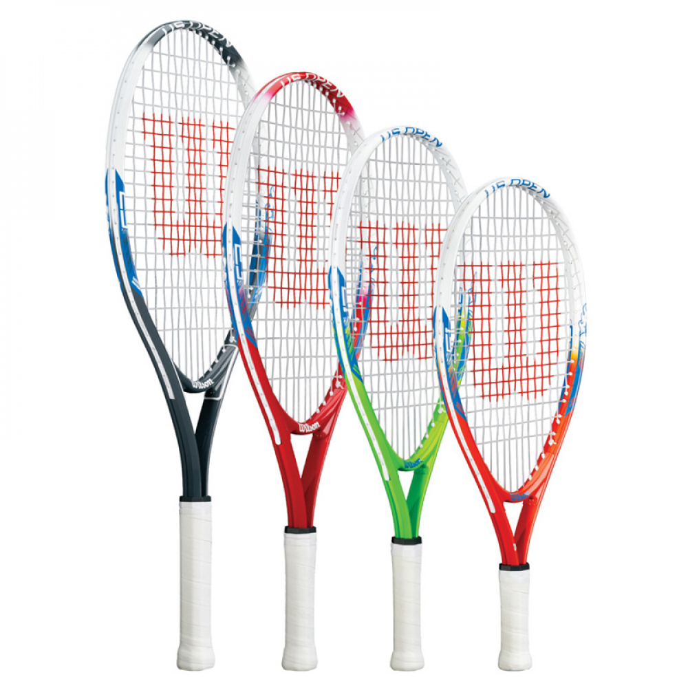 Wilson US Open Junior Tennis Racquet, US Open Tennis Balls Can