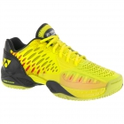 Yonex Men's Power Cushion Eclipsion Tennis Shoe (Yellow/Navy) - Types of Tennis Shoes