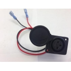 Lobster Tennis Ball Machine XLR Charger Socket Replacement Part -