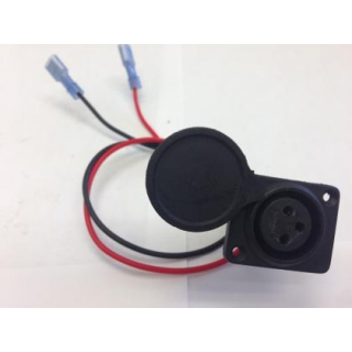 Lobster Tennis Ball Machine XLR Charger Socket Replacement Part