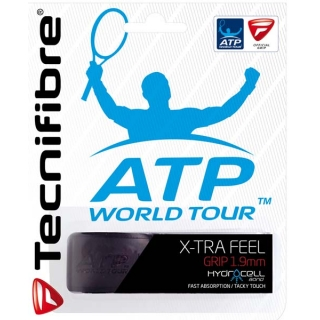 Tecnifibre X-Tra Feel Replacement Grip (Black)